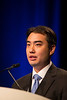 Orlando, FL - 2013 Genitourinary Cancers Symposium - Orlando, FL: William C. Huang MD discusses Abstract #343 Surveillance for the management of small renal masses: Utilization and outcomes in a population-based cohort. during the Oral Abstract Session C: Renal Cancer at the Genitourinary Cancers Symposium 2013 here today, Saturday February 16, 2013. The Symposium is supported by ASCO, the American Society of Clinical Oncology, ASTRO, the American Society of Radiation Oncology and SUO, the Society of Urologic Oncology. Over 2,500 physicians, researchers and allied healthcare professionals are attending the meeting which is being held at the Rosen Shingle Creek in Orlando and features the latest Genitourinary Cancers research in the areas of basic and clinical science.  Date: Saturday February 16, 2013.  Photo by © ASCO/Todd Buchanan 2013 Technical Questions: todd@medmeetingimages.com; Phone: 612-226-5154.