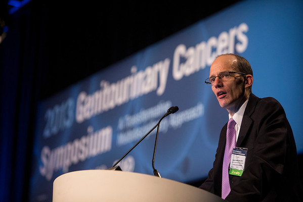 Orlando, FL - 2013 Genitourinary Cancers Symposium - Orlando, FL: Chris Parker, MD, MRCP discusses What Is the Current Status of Active Surveillance? during the General Session I: : Prostate Cancer: Active Surveillance and Screening at the Genitourinary Cancers Symposium 2013 here today, Thursday February 14, 2013. The Symposium is supported by ASCO, the American Society of Clinical Oncology, ASTRO, the American Society of Radiation Oncology and SUO, the Society of Urologic Oncology. Over 2,500 physicians, researchers and allied healthcare professionals are attending the meeting which is being held at the Rosen Shingle Creek in Orlando and features the latest Genitourinary Cancers research in the areas of basic and clinical science.  Date: Thursday February 14, 2013.  Photo by © ASCO/Todd Buchanan 2013 Technical Questions: todd@medmeetingimages.com; Phone: 612-226-5154.