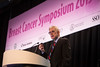 San Francisco, CA - 2013 Breast Cancer Symposium: Dr George Sledge delivers the Medical Oncology Perspective Keynote at the ASCO Breast Cancer Symposium here today, Monday September 9, 2013. The Symposium is supported by ASCO, the American Society of Clinical Oncology, ASTRO, the Society of Surgical Oncology and SUO, the American Society of Breast Disease, The American Society of Breast Surgeons and the National Consortium of Breast Centers. Over 1,000 physicians, researchers and allied healthcare professionals are attending the meeting which is being held at the Marriott Marquis in San Francisco and features the latest Breast Cancer research in the areas of basic and clinical science.  Date: Monday September 9, 2013.  Photo by © ASCO/Todd Buchanan 2013 Technical Questions: todd@medmeetingimages.com; Phone: 612-226-5154.