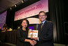 San Francisco, CA - 2013 Breast Cancer Symposium: Dr. Larry Norton recieves the Gianni Bonadonna Breast Cancer Award and Lecture  at the ASCO Breast Cancer Symposium here today, Sunday September 8, 2013. The Symposium is supported by ASCO, the American Society of Clinical Oncology, ASTRO, the Society of Surgical Oncology and SUO, the American Society of Breast Disease, The American Society of Breast Surgeons and the National Consortium of Breast Centers. Over 1,000 physicians, researchers and allied healthcare professionals are attending the meeting which is being held at the Marriott Marquis in San Francisco and features the latest Breast Cancer research in the areas of basic and clinical science.  Date: Sunday September 8, 2013.  Photo by © ASCO/Todd Buchanan 2013 Technical Questions: todd@medmeetingimages.com; Phone: 612-226-5154.
