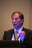 San Francisco, CA - 2013 Breast Cancer Symposium: Meet the Professor: Dr. Eleftherios P Mamounas speaks at the ASCO Breast Cancer Symposium here today, Sunday September 8, 2013. The Symposium is supported by ASCO, the American Society of Clinical Oncology, ASTRO, the Society of Surgical Oncology and SUO, the American Society of Breast Disease, The American Society of Breast Surgeons and the National Consortium of Breast Centers. Over 1,000 physicians, researchers and allied healthcare professionals are attending the meeting which is being held at the Marriott Marquis in San Francisco and features the latest Breast Cancer research in the areas of basic and clinical science.  Date: Sunday September 8, 2013.  Photo by © ASCO/Todd Buchanan 2013 Technical Questions: todd@medmeetingimages.com; Phone: 612-226-5154.