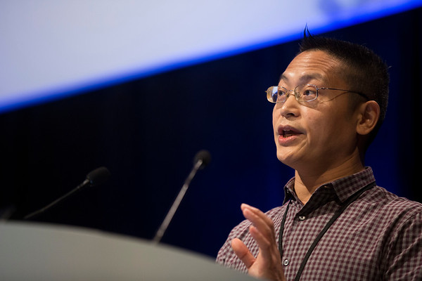 Limo Chen, PhD, presents Abstract #79