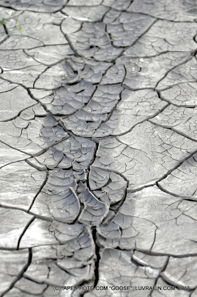 CRACKED DRY DIRT