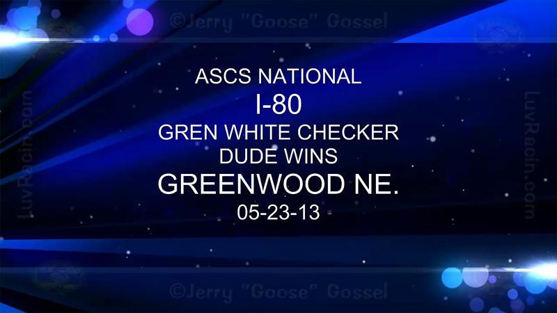 ASCS I 80 CHECKER 05-23-13