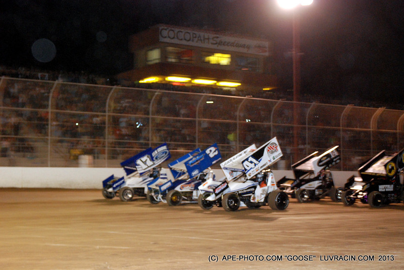 3 WIDE FOR THE PACKED STANDS