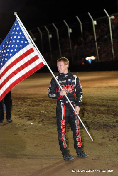 BRAD SWEET FLAG MAN USA , ASCS