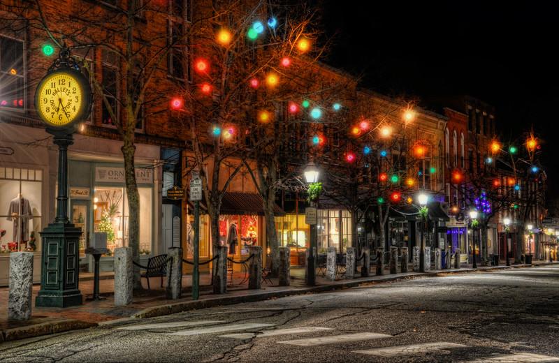 Holiday Season in Bath, Maine