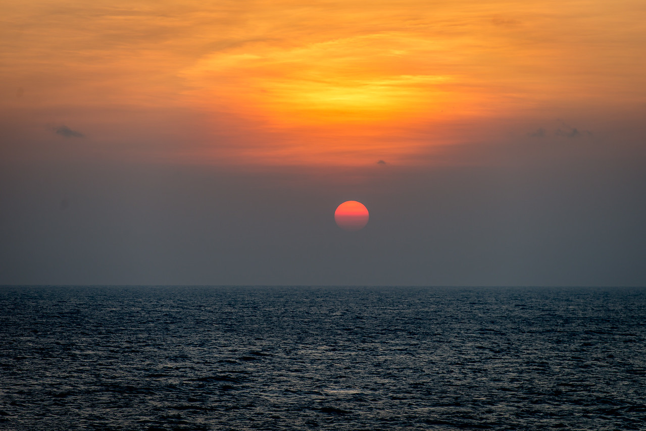 Sun on the Sea