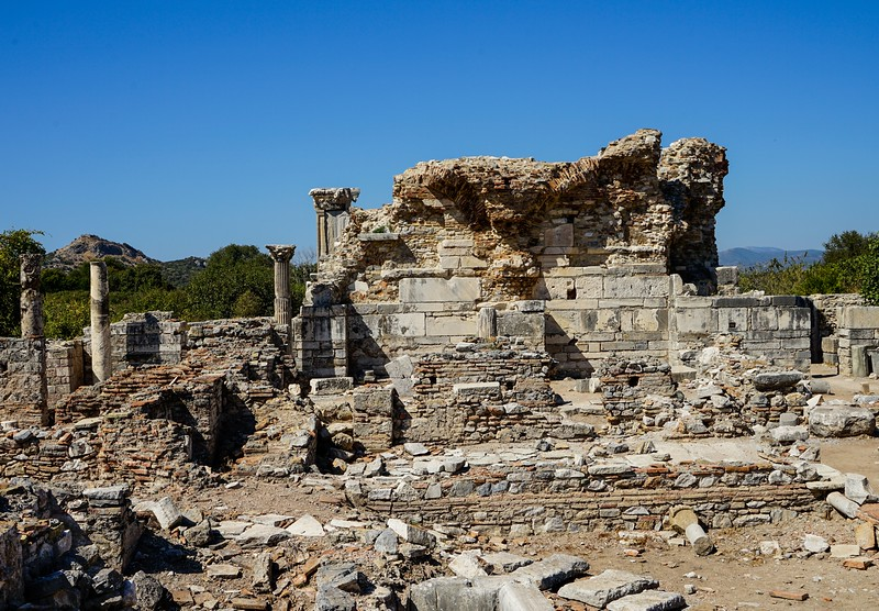 EPHESUS, ΕΦΕΣΟΣ, Ruins of the Churh of Virgin Mary 431 AD