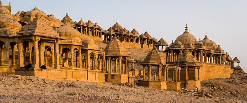 Bada Bagh Cenotaphs of the Maharajas, Jaisalmer, Rajasthan