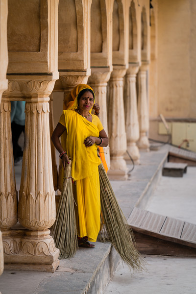 Ladies in the Fort at Jaipur