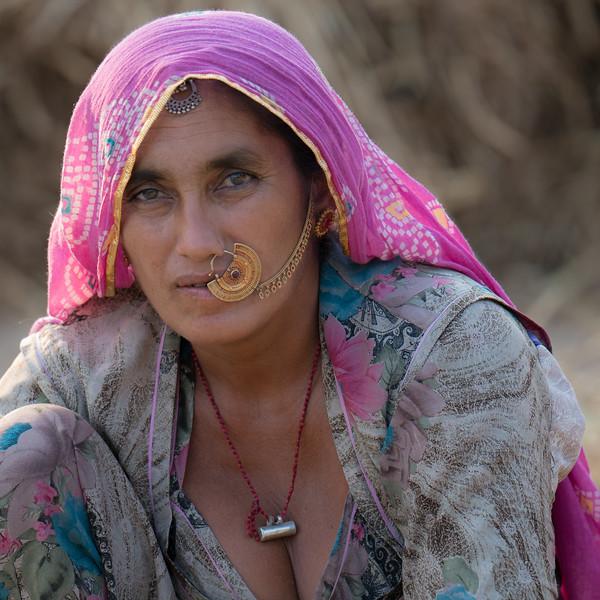 a Bishnoi Woman, Rajasthan.