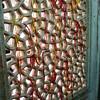 Tomb of Salim Chishti, Fatepur Sikri, 1580. Strings tied to window to make wishes.