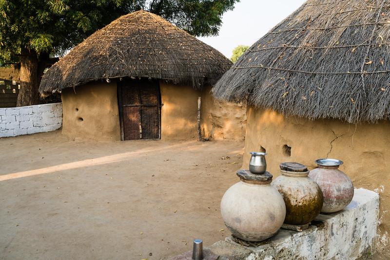 A Bishnoi House, Rajasthan