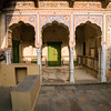 Courtyard of a Haveli, Mandawa, Rajasthan