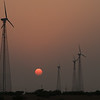 Wind Power Turbines, Jaisalmer, Rajasthan.