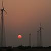 Wind Power Turbines, Jaisalmer, Rajasthan.