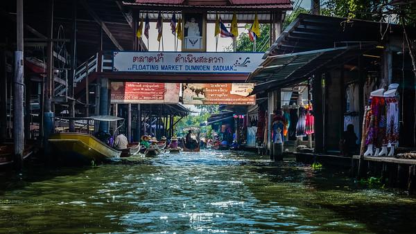 Floating Market Dumnoen Saduak