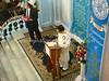 IN-D 653  L, synagogue president Solomon Sopher; R, Governor of Maharashra H E MR S C  Jamir