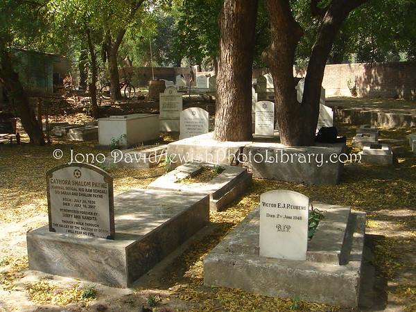 INDIA, Delhi. Jewish Cemetery. (2009)
