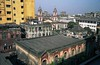 CALCUTTA 3:27. View of roof from atop adjacent Magen David Synagogue. (2001 photo)