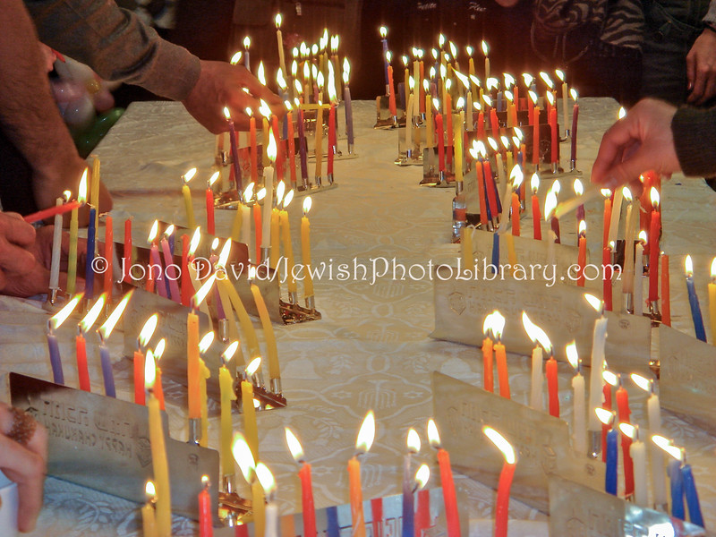 JP-D 263  Hanukkah Party, Ohel Shelomo Synagogue  KOBE, JAPAN)