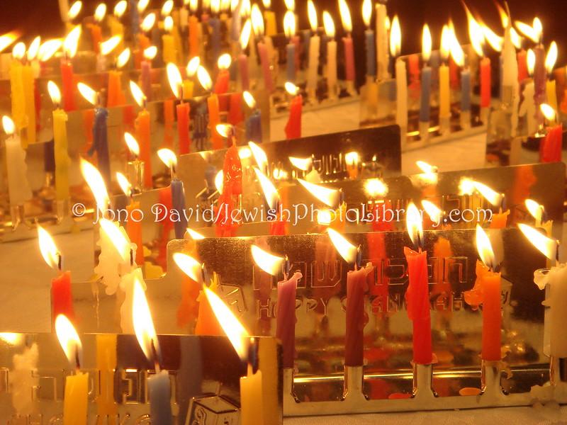 JP-D 247  Hanukkah Party, Ohel Shelomo Synagogue  KOBE, JAPAN