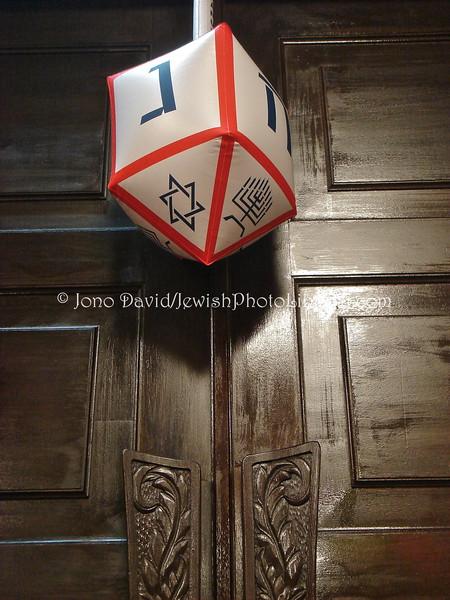JP-D 194  Hanukkah Party, Ohel Shelomo Synagogue  KOBE, JAPAN