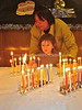JP-D 258  Hanukkah Party, Ohel Shelomo Synagogue  KOBE, JAPAN