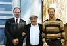 RU 2068  L to R  Alexander Meriakri, Chairman Giyorgi, US visitor Eial Dujovny