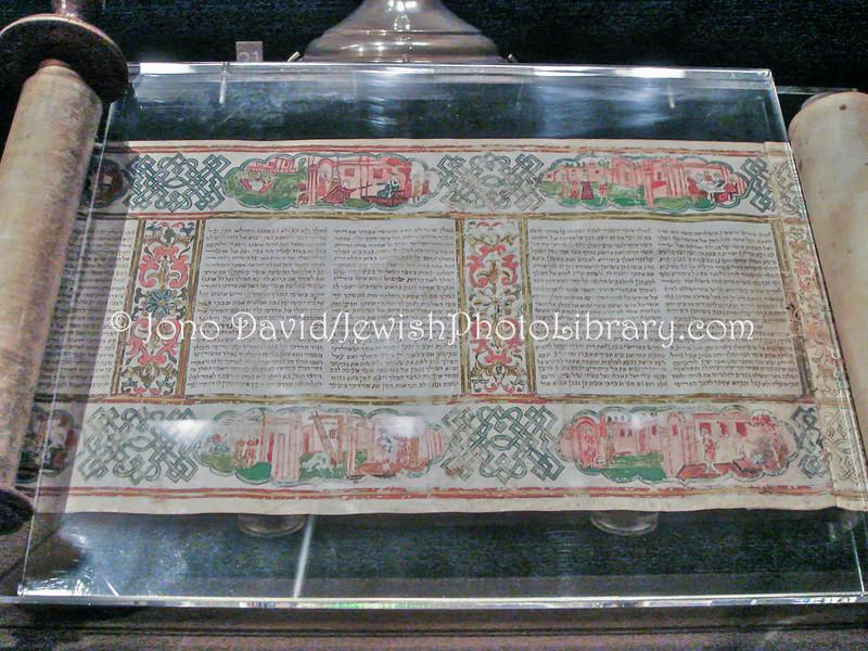 TW 6  Megillah scroll