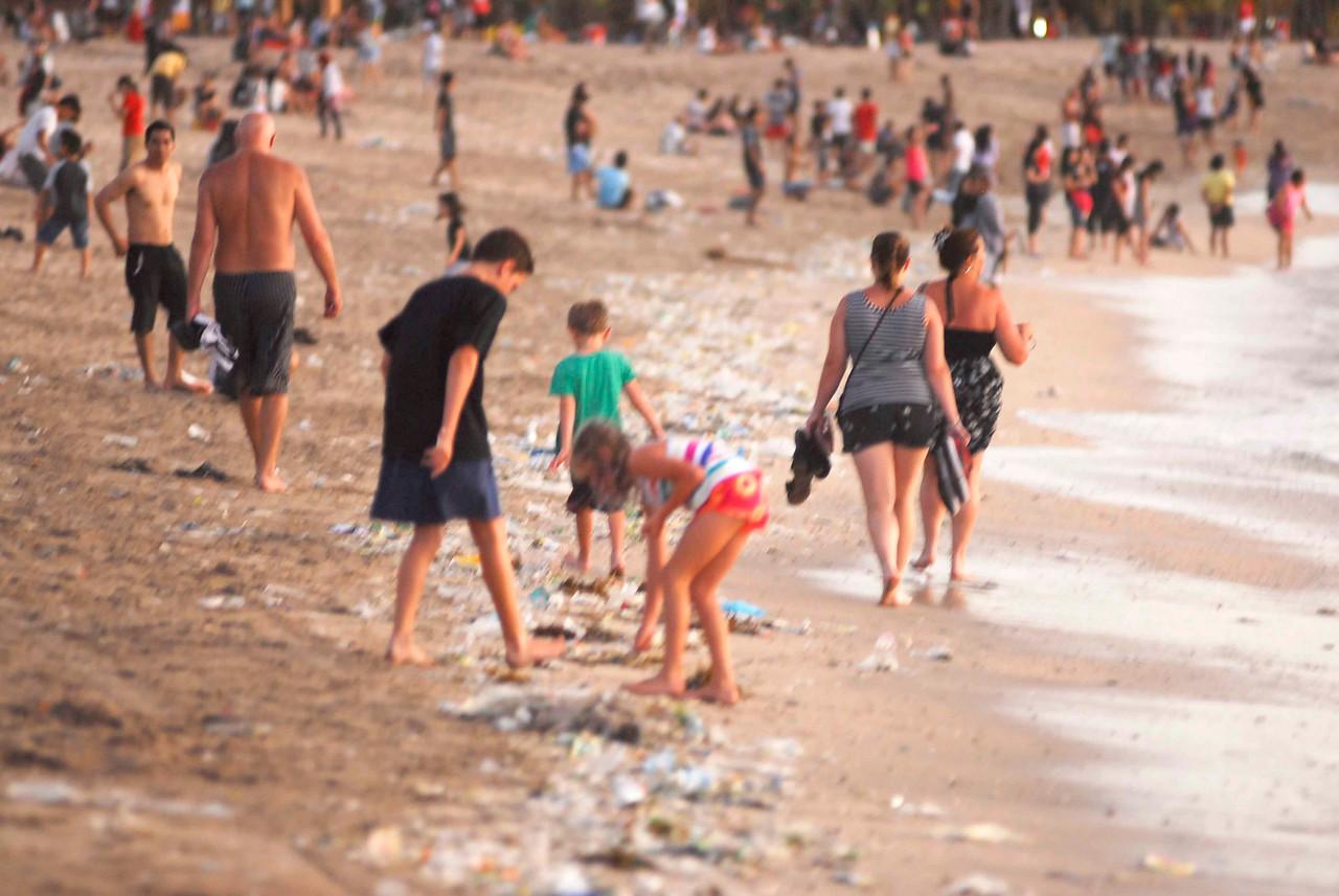 Kuta Beach Rainy Season