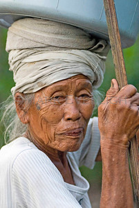 Balinese Rural Portrait