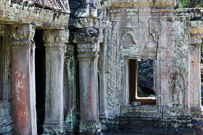 Ruins of temple, Cambodia