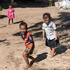 Portrait of happy children playing, Siem Reap, Cambodia