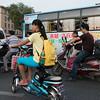 Road traffic at Xi'an, Shaanxi, China.