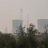 Coal burning smoke stacks at Xi'an, China.