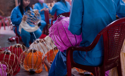 Hoi An, Vietnam, Lantern-Making, Co-Op