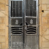 Metal door at Jaisalmer Fort, Jaisalmer, Rajasthan, India