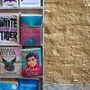 Books for sale at market stall, Jaisalmer Fort, Jaisalmer, Rajasthan, India