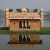 Palace in lake, Jal Mahal Grand Palace, Man Sagar Lake, Jaipur, Rajasthan, India