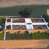 High angle view of formal garden, Kesar Kyari Garden (Saffron Garden), Jaipur, Rajasthan, India