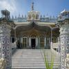 Fa�ade of a temple, Calcutta Jain Temple, Kolkata, West Bengal, India