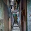 Narrow alley, Kolkata, West Bengal, India