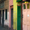 Buildings along Abhedananda Road, Kolkata, West Bengal, India