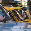 Cars on street, Kolkata, West Bengal, India