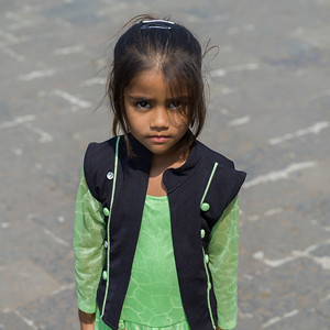 Close-up of a girl, Mumbai, Maharashtra, India