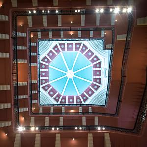 Ceiling in Taj Mahal Hotel, Colaba, Mumbai, Maharashtra, India