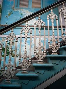 Staircase of Knesset Eliyahoo Synagogue, Colaba, Mumbai, Maharashtra, India