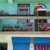 Balcony of building, Kaluk, Sikkim, India